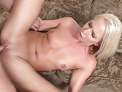 Teen, Blowjob, Blonde, Facial