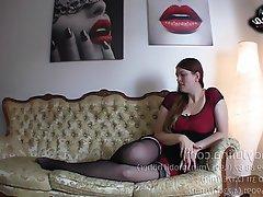 BDSM, Cuckold, Femdom, German, Pantyhose