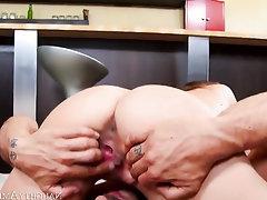 Asian, Babe, Big Ass, Big Cock