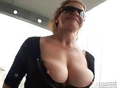 Big Boobs, Blowjob, Facial, German, Granny