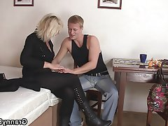 Granny, Mature, MILF, Old and Young, Teen