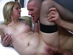 Anal, Blonde, Mature, Old and Young, Old and Young