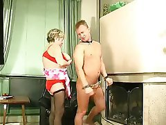 BDSM, Granny, Old and Young, Russian, Stockings
