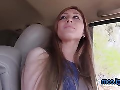Amateur, Facial, Redhead, Car, Teacher