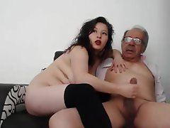 Amateur, Mature, Handjob, Old and Young, Teen