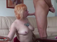 Teen, MILF, Old and Young, German, Rimjob
