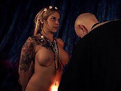BDSM, German, Black, Spanking