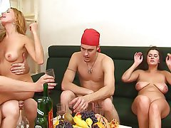 Amateur, Group Sex, Old and Young