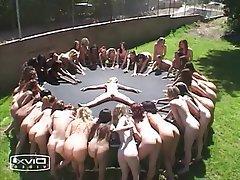 Brazil, Bukkake, Lesbian, Squirt