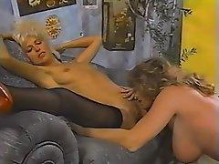 Hairy, Lesbian, MILF, Stockings