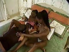 Anal, Babe, Interracial, Threesome
