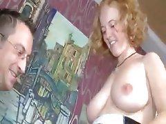 Big Boobs, Facial, German, Hardcore, Redhead