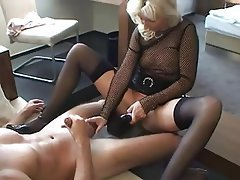 Old and Young, Amateur, Blonde, German