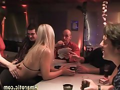 Blonde, Czech, Gangbang, Group Sex, Teen